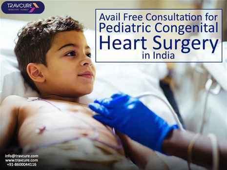 Avail Free Consultation for Pediatric Congenital Heart Surgery in India